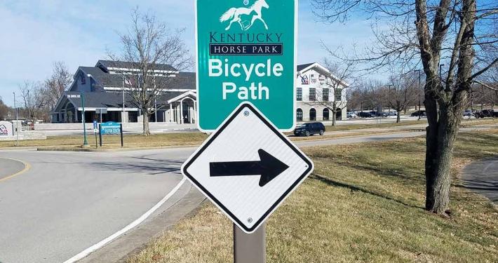Bike Path Signage