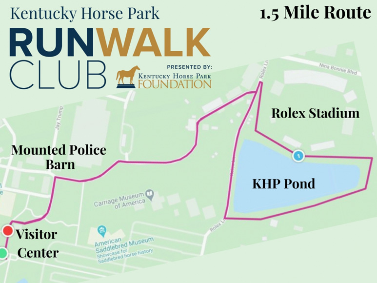Run Walk Club Map